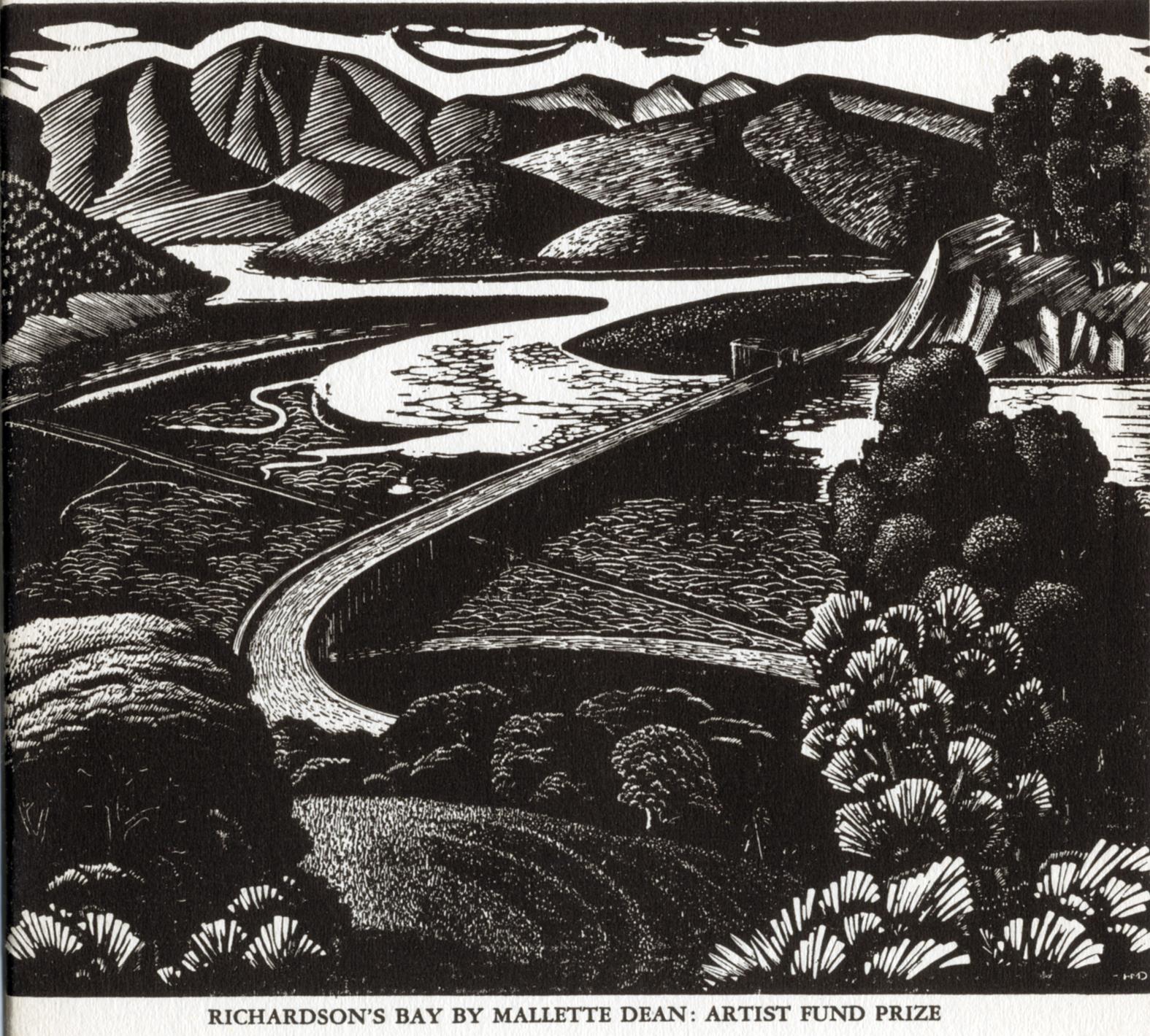 1938 SFAA Annual drawings printsMallette Dean Richardson Bay Marin County.jpg