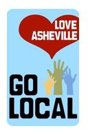 love asheville go local