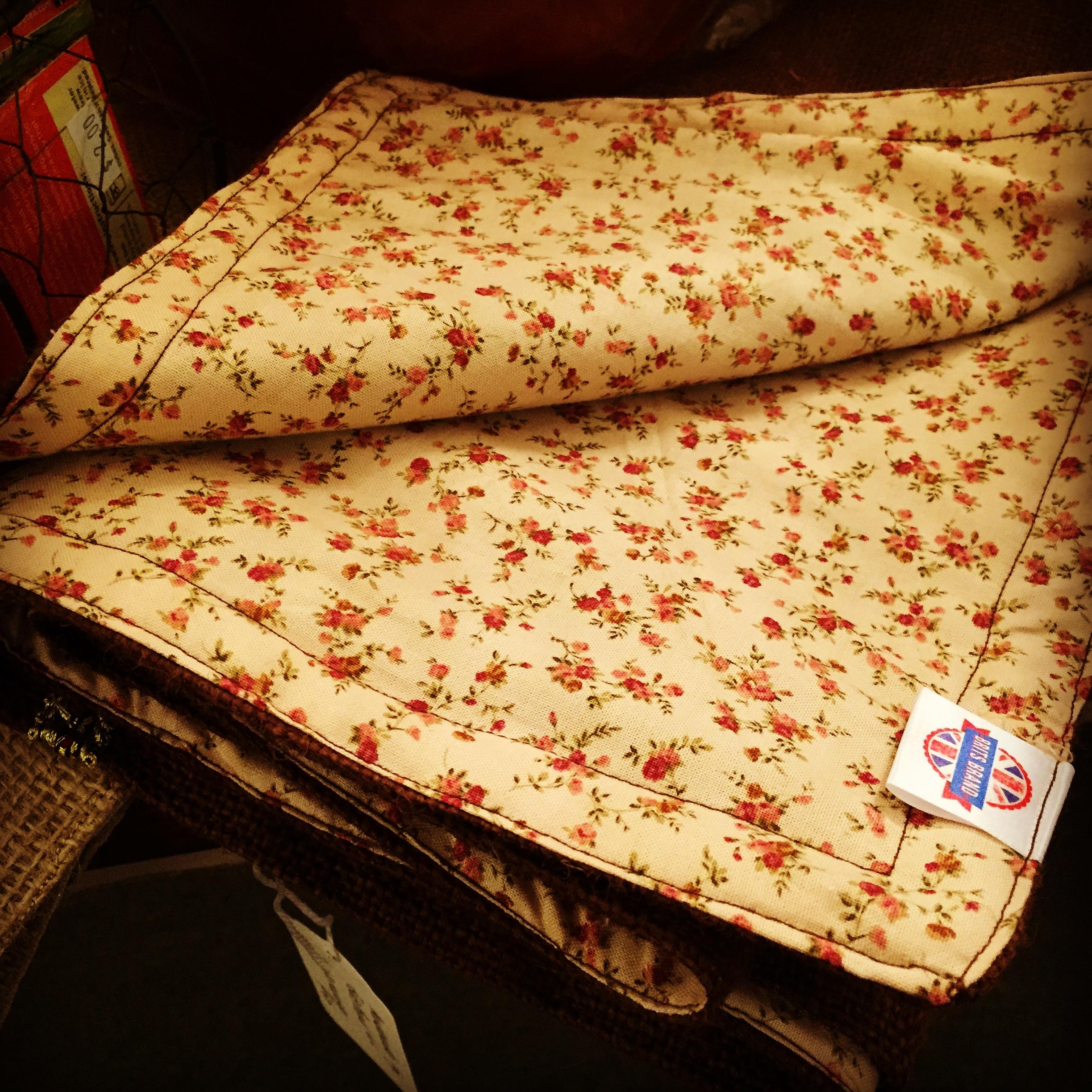 Beautiful handmade table runners and mats