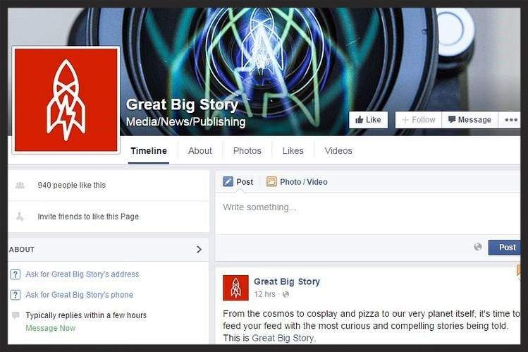 CNN launching new video brand great big story on facebook