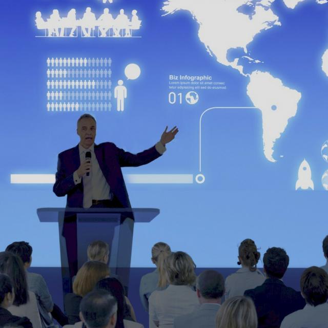 speaking at trade shows