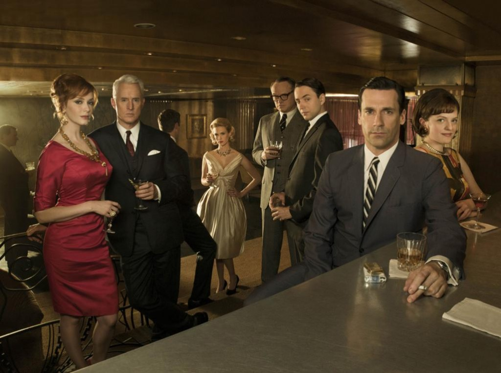 photo courtesy of AMC's  Mad Men