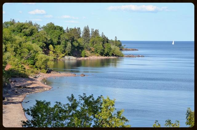 Lake Superior. Photo by Flickr user  jpellgen