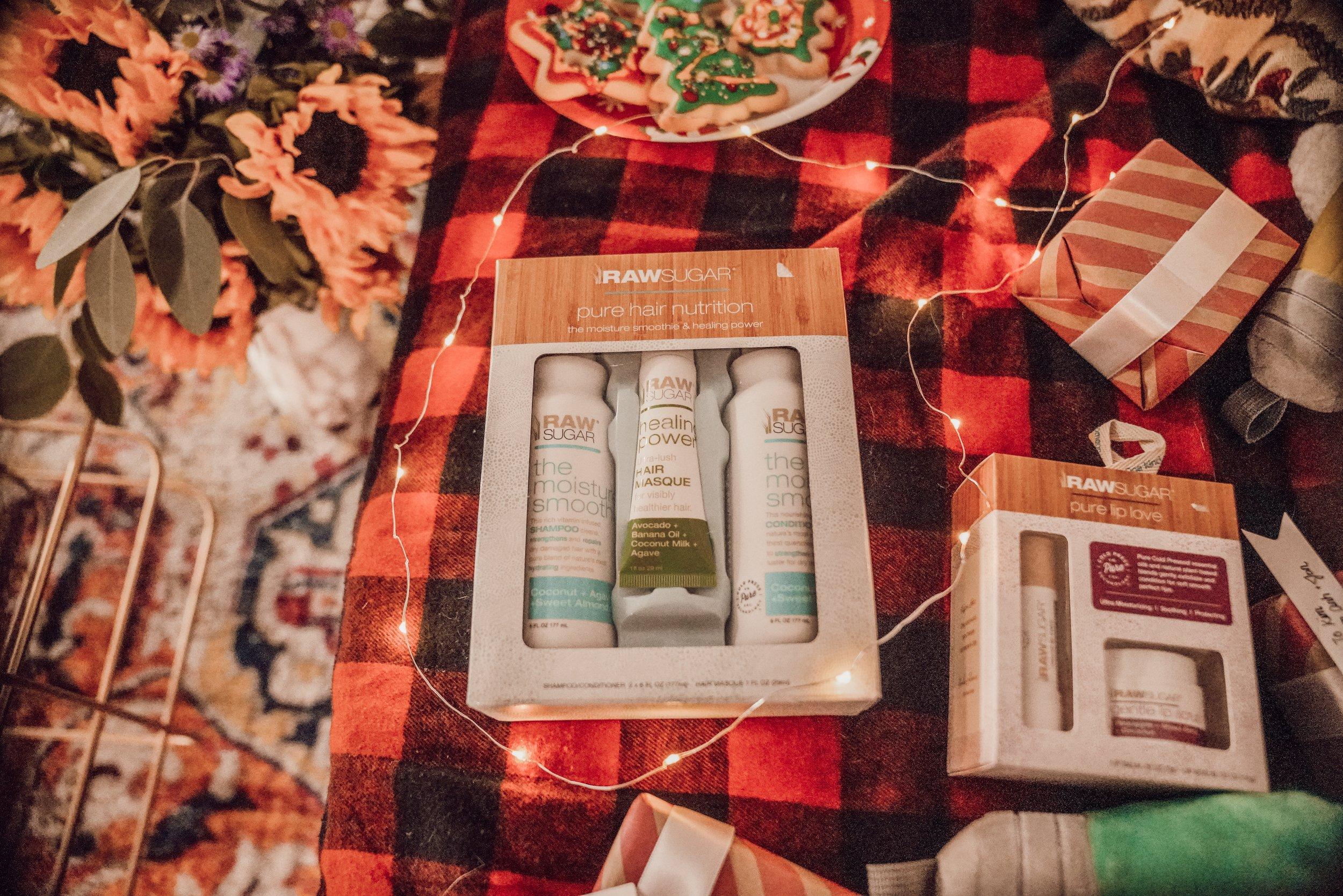 Raw Sugar Pure Hair Nutrition - Hair Trio Set: Moisture Smoothie -