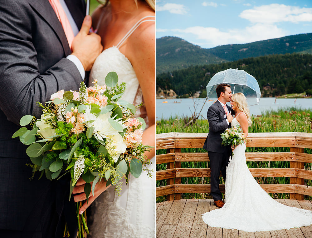 Evergreen Lake House Wedding - Rainy Colorado Wedding -2.jpg