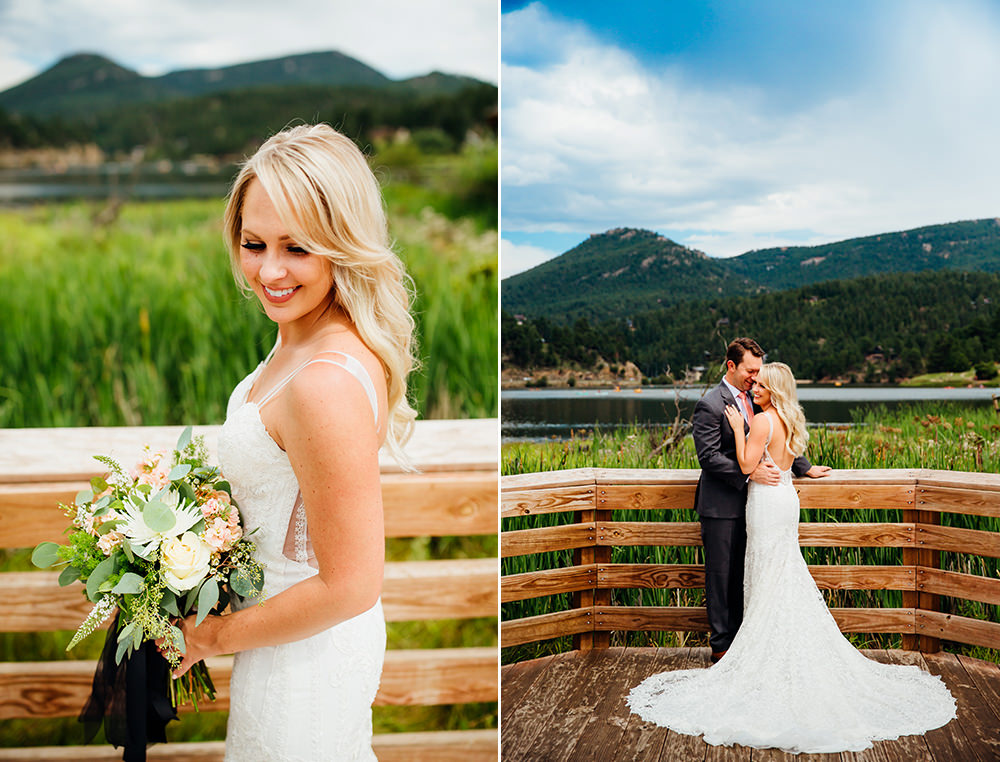 Evergreen Lake House Wedding - Rainy Colorado Wedding -3.jpg