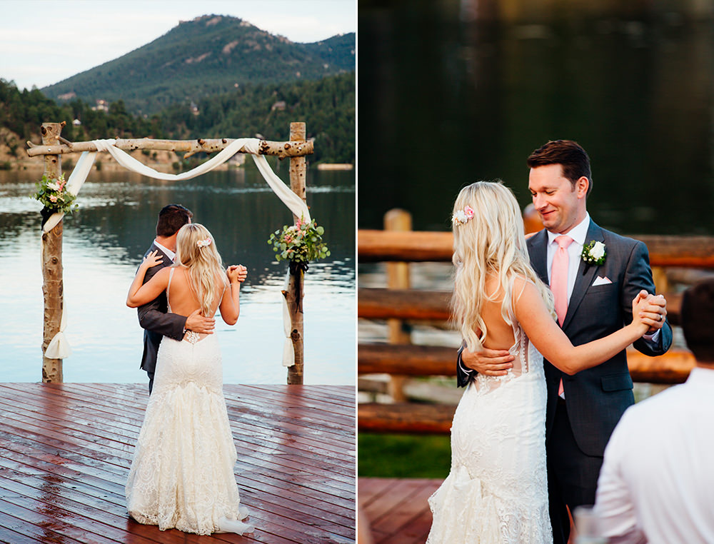 Evergreen Lake House Wedding - Rainy Colorado Wedding -7.jpg