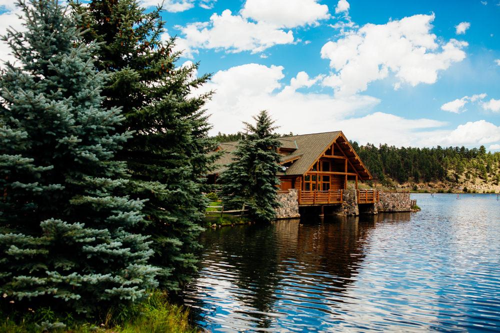 Evergreen Lake House Wedding - Rainy Colorado Wedding -19.jpg