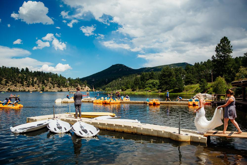 Evergreen Lake House Wedding - Rainy Colorado Wedding -20.jpg