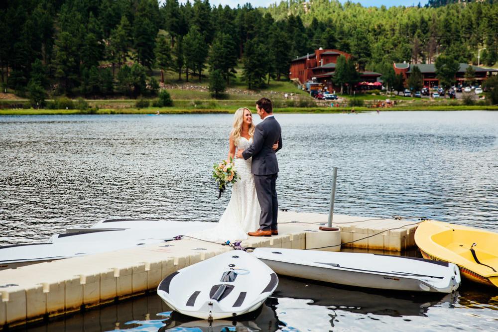 Evergreen Lake House Wedding - Rainy Colorado Wedding -25.jpg