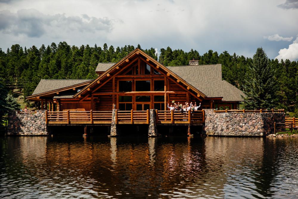 Evergreen Lake House Wedding - Rainy Colorado Wedding -29.jpg
