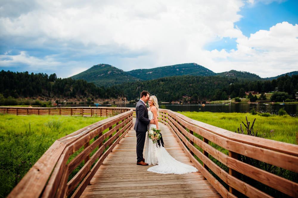 Evergreen Lake House Wedding - Rainy Colorado Wedding -34.jpg