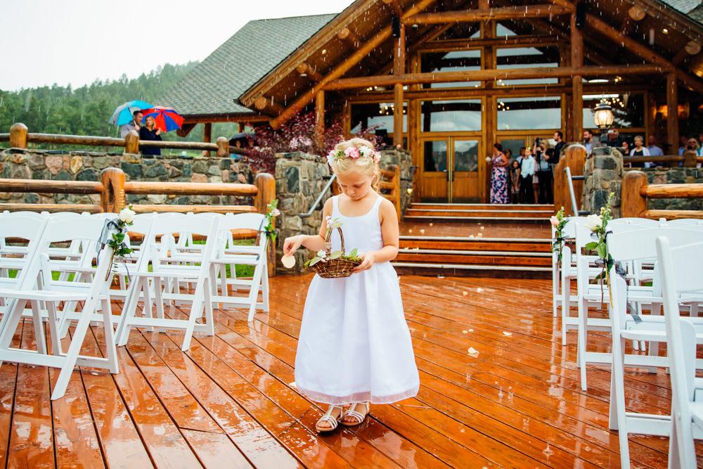 Evergreen Lake House Wedding - Rainy Colorado Wedding -41.jpg