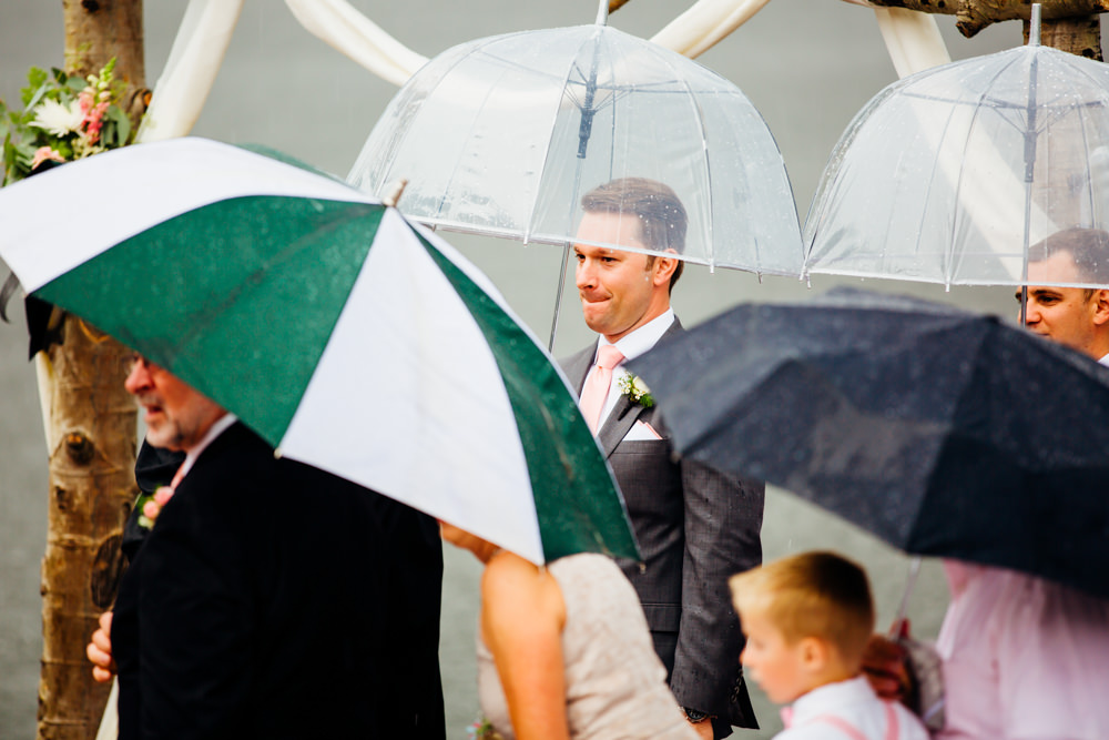 Evergreen Lake House Wedding - Rainy Colorado Wedding -42.jpg