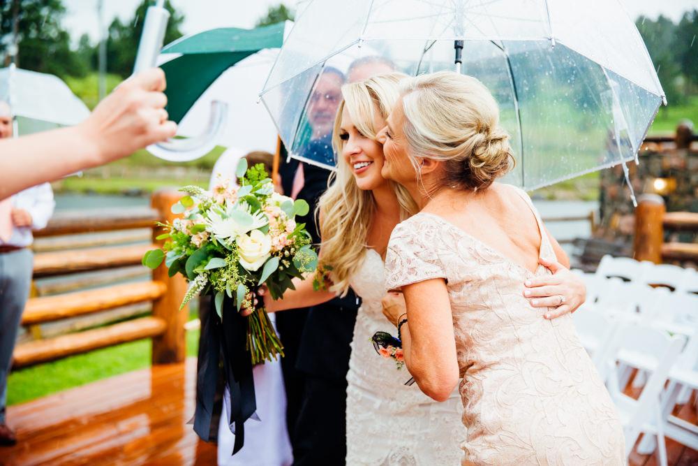 Evergreen Lake House Wedding - Rainy Colorado Wedding -44.jpg