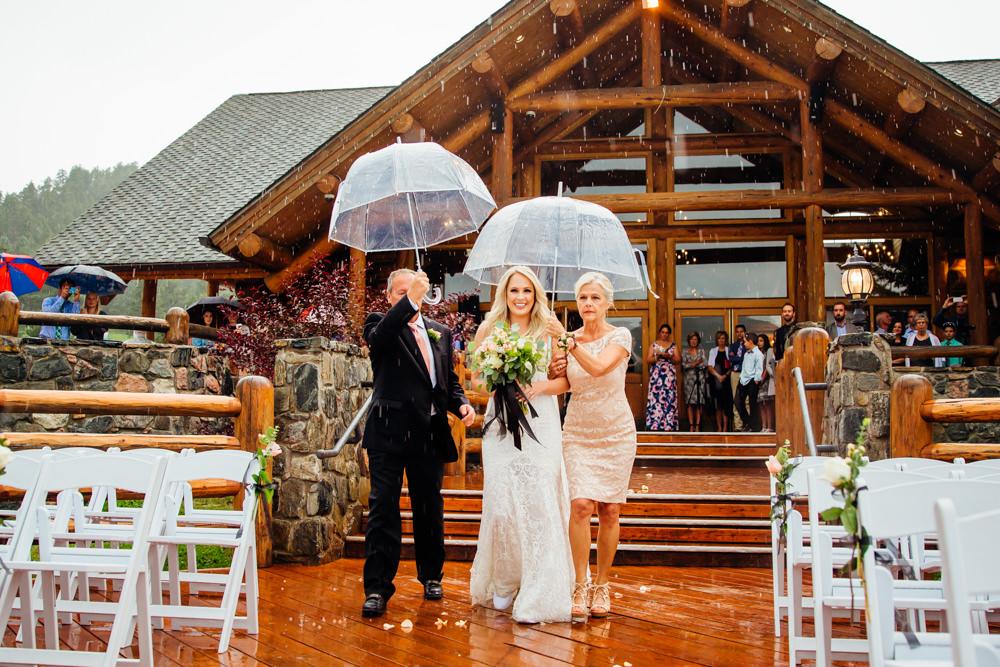 Evergreen Lake House Wedding - Rainy Colorado Wedding -43.jpg