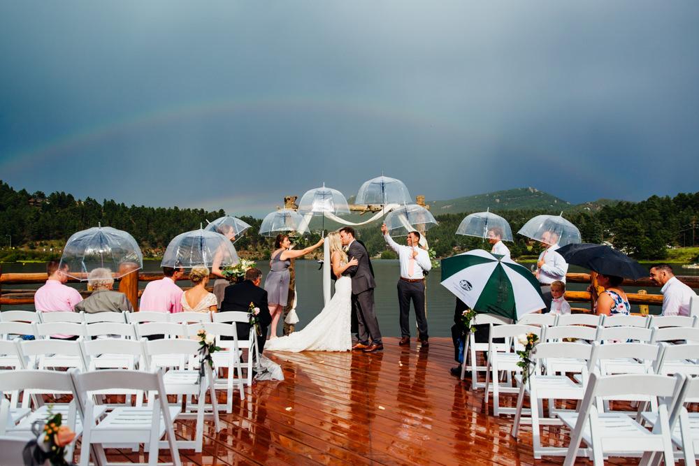 Evergreen Lake House Wedding - Rainy Colorado Wedding -54.jpg