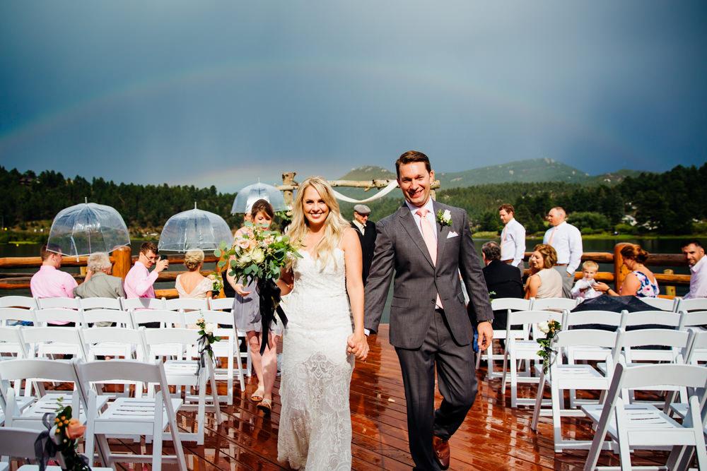 Evergreen Lake House Wedding - Rainy Colorado Wedding -55.jpg
