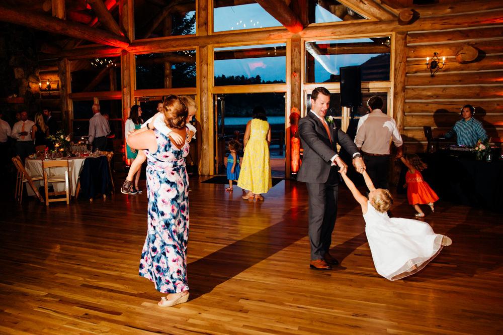 Evergreen Lake House Wedding - Rainy Colorado Wedding -73.jpg