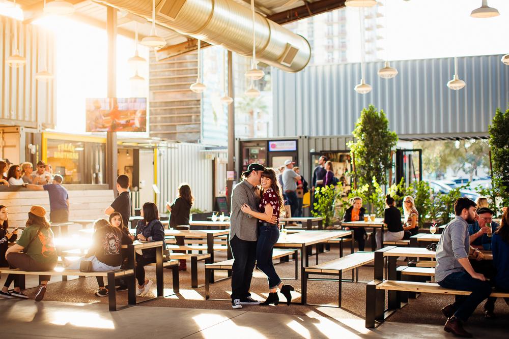 Downtown Phoenix engagement session - Best Phoenix Photographer-10.jpg