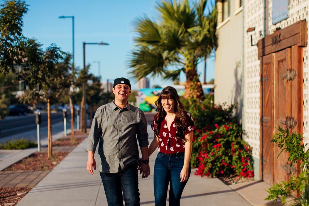 Downtown Phoenix engagement session - Best Phoenix Photographer-17.jpg
