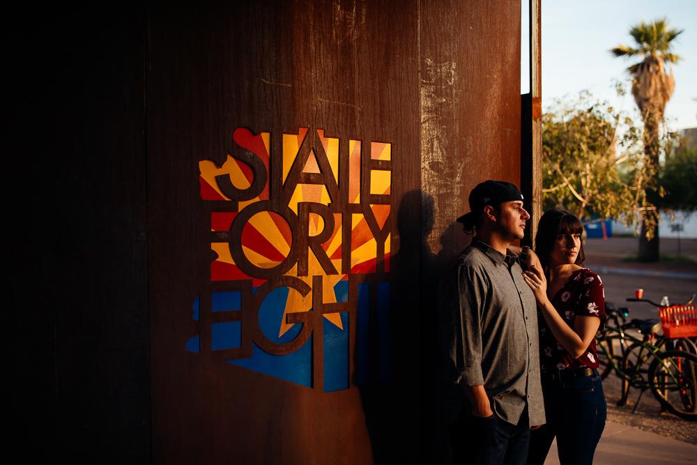 Downtown Phoenix engagement session - Best Phoenix Photographer-38.jpg