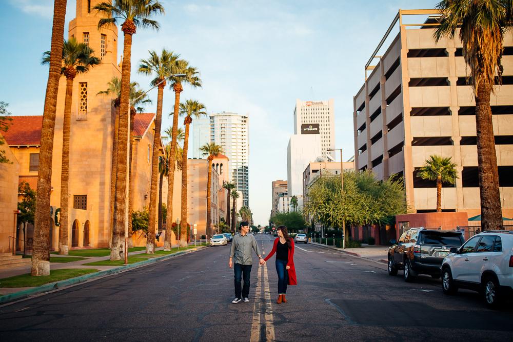 Downtown Phoenix engagement session - Best Phoenix Photographer-41.jpg