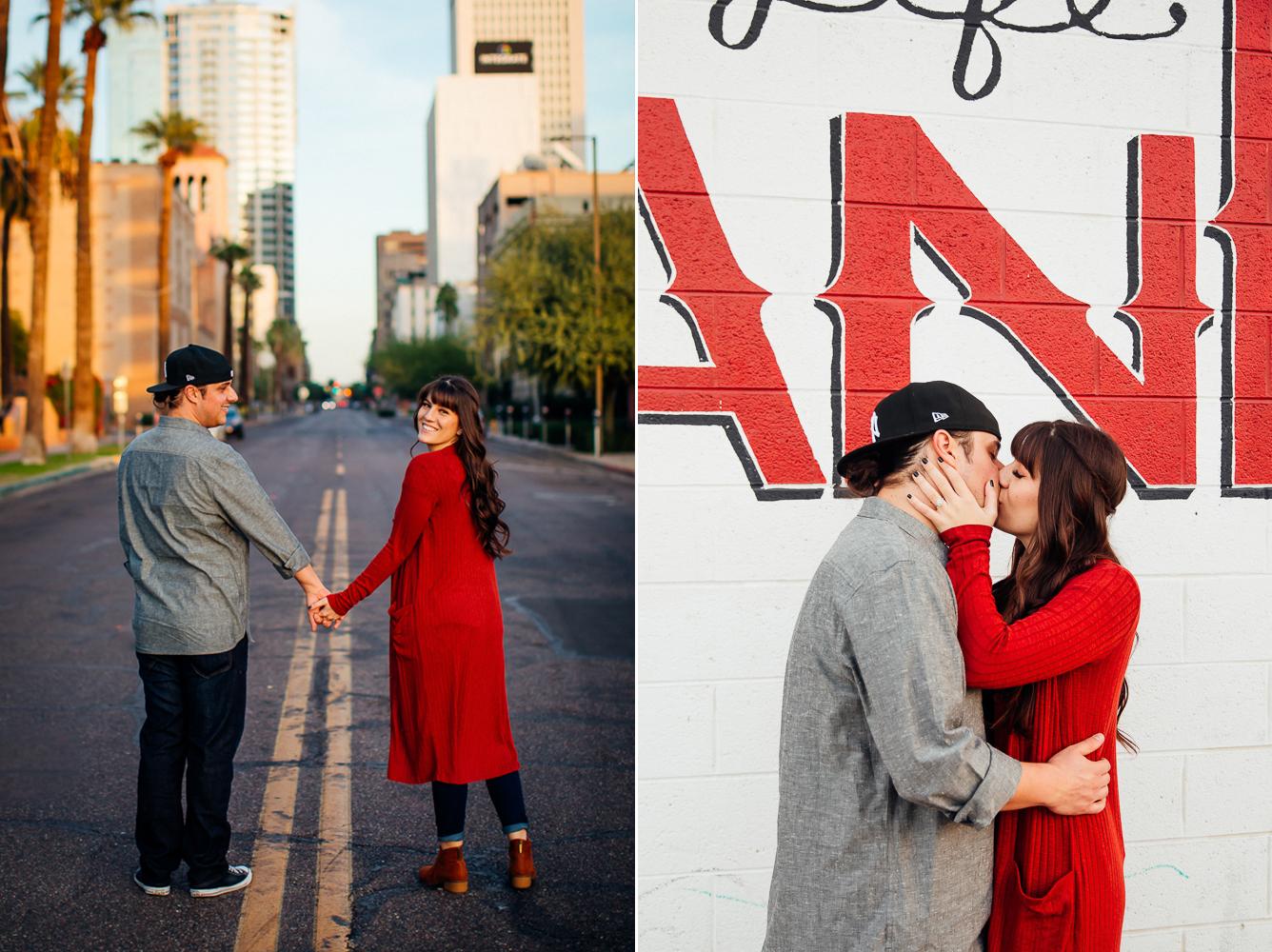 Downtown Phoenix engagement session - Best Phoenix Photographer-42.jpg