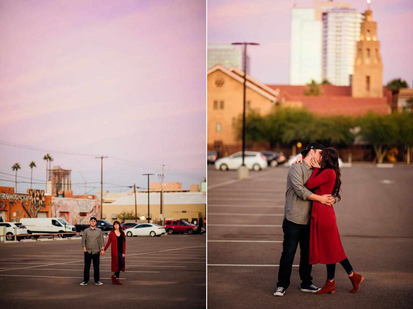 Downtown Phoenix engagement session - Best Phoenix Photographer-56.jpg