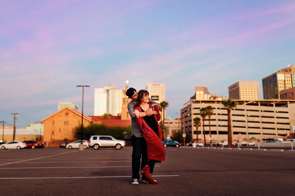 Downtown Phoenix engagement session - Best Phoenix Photographer-58.jpg