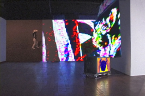 Fair Play.   Three Channel Video Installation with Sound.