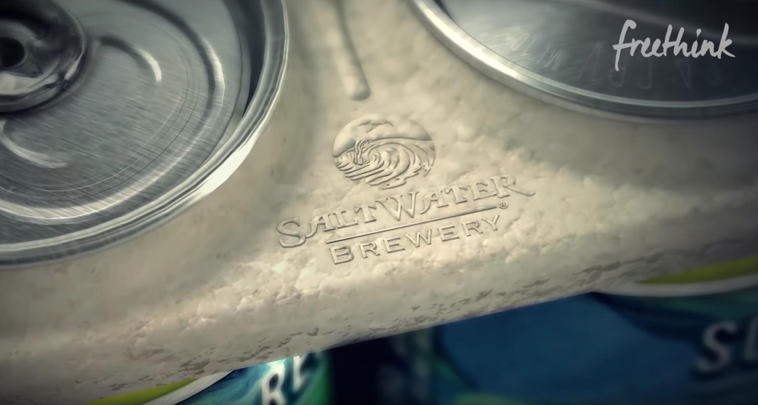 Freethink x Saltwater Brewery -
