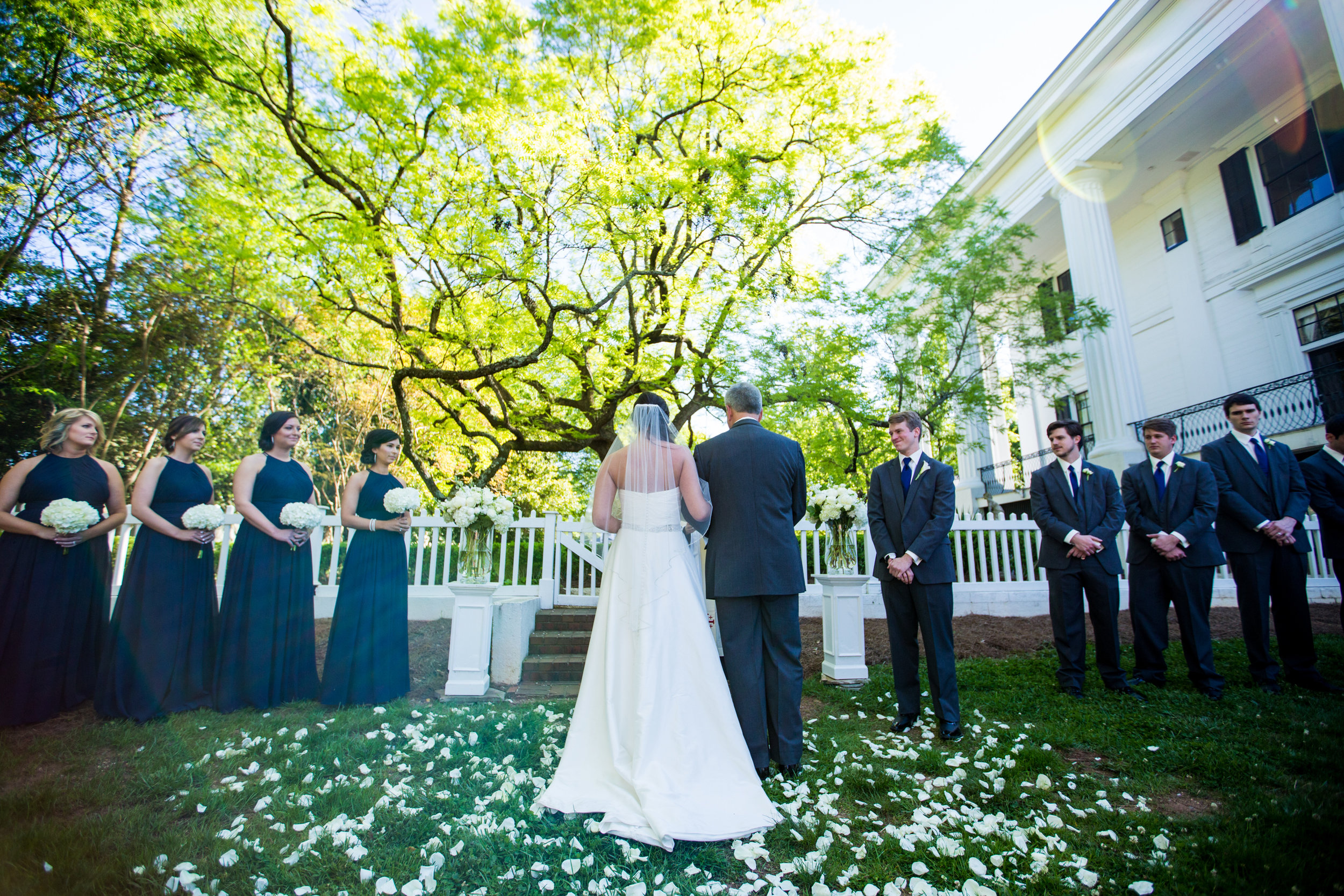 The Side Yard - one of the top ceremony sites on the TGH grounds