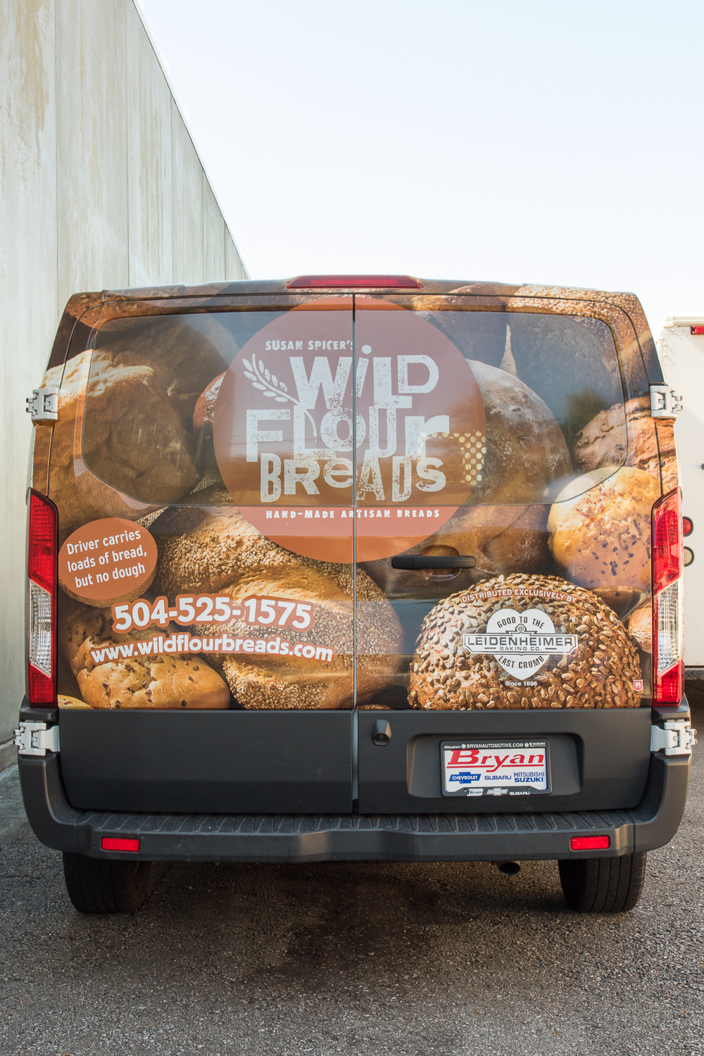 Wild Flour Delivery Truck