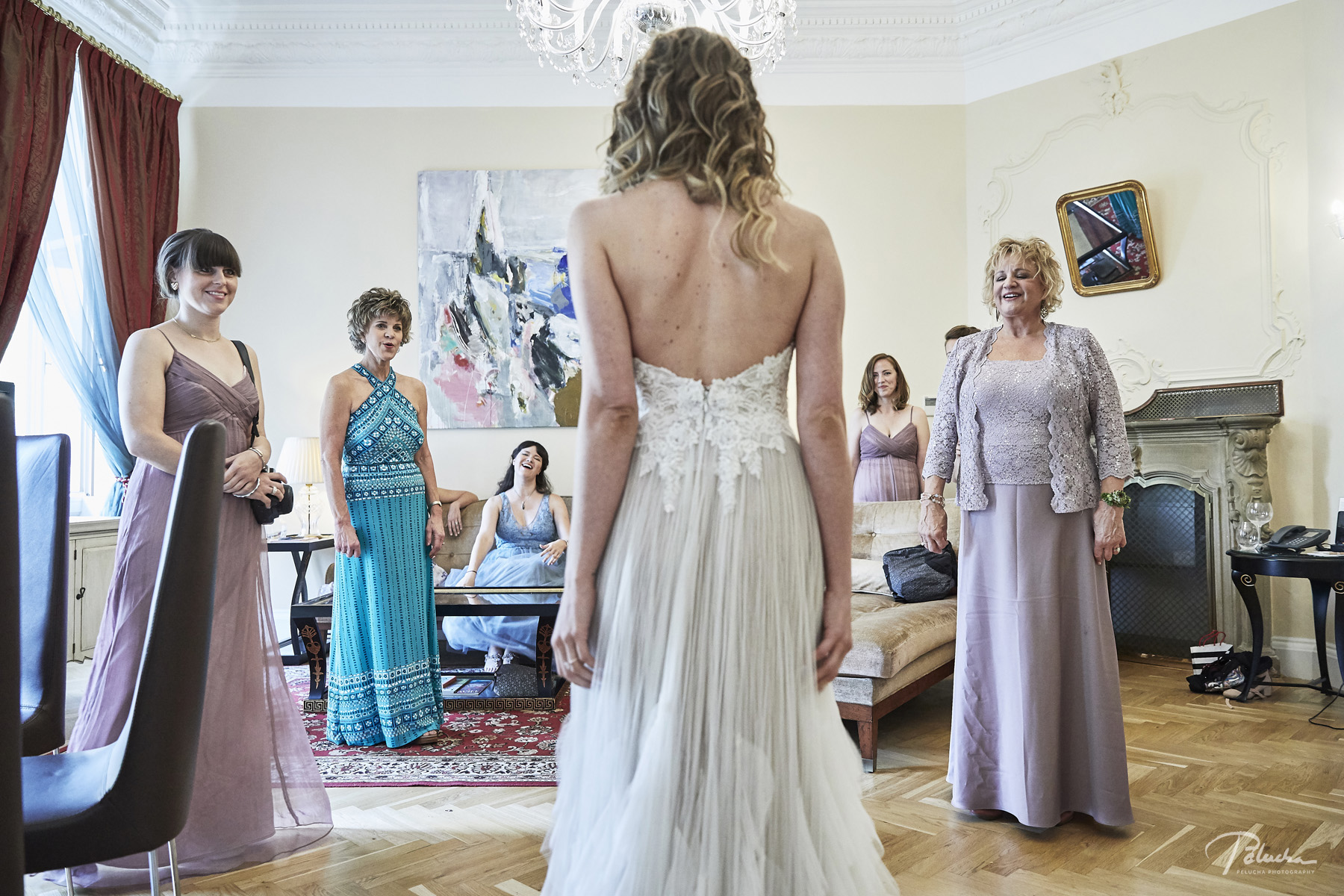 The Bride Reveals Herself