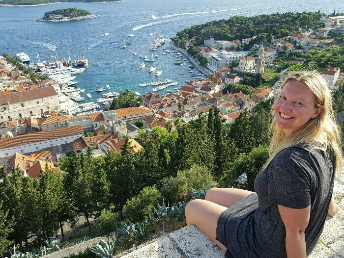 Hvar - fortress view