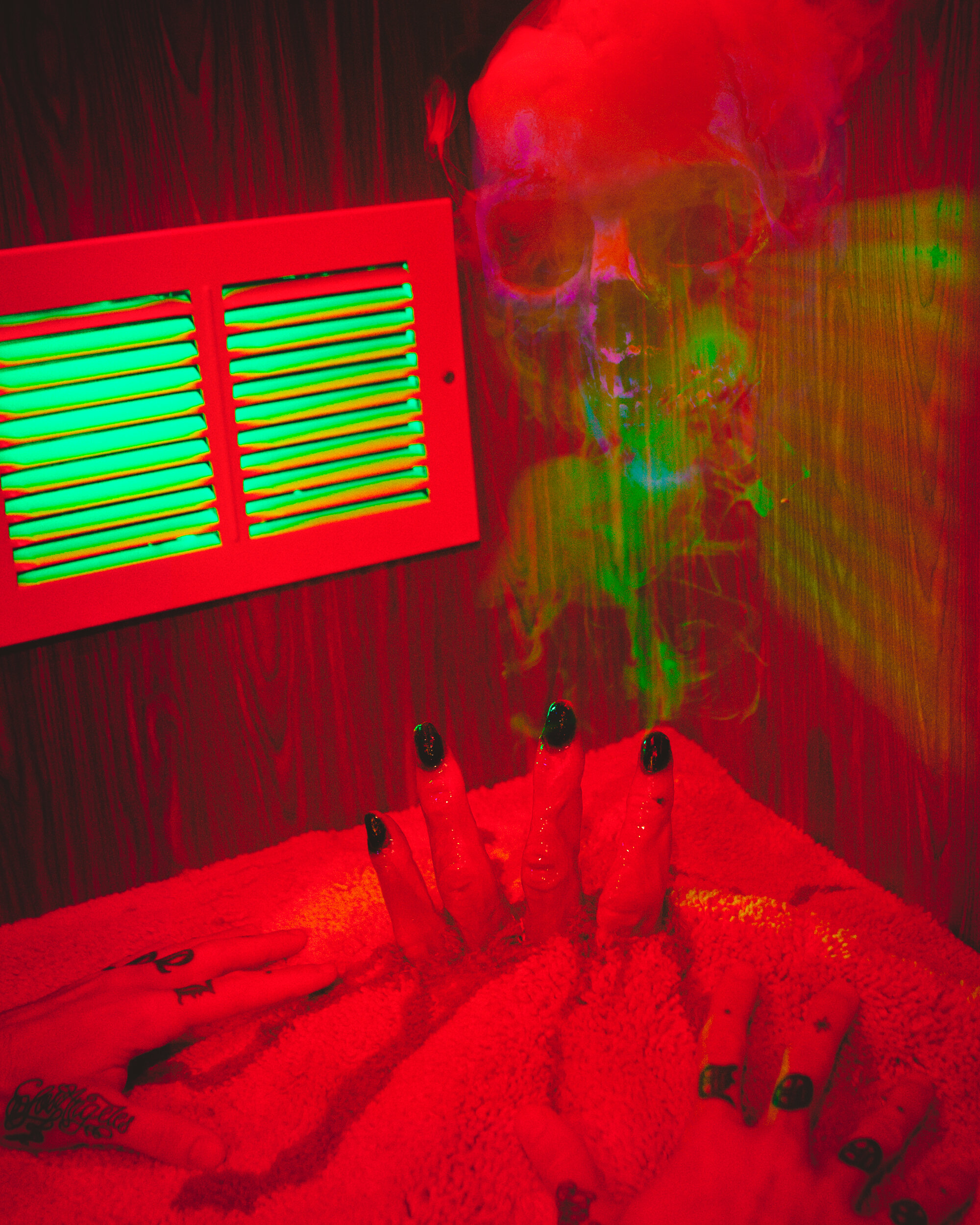 Demon Hand by Robert Hickerson
