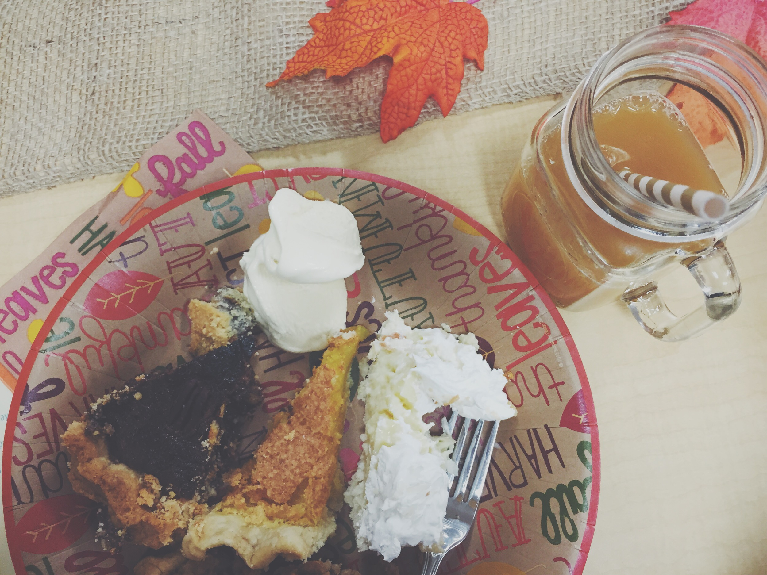 Lil Pumpkin baby shower theme- Served homemade pies and fall drinks | finicky designs