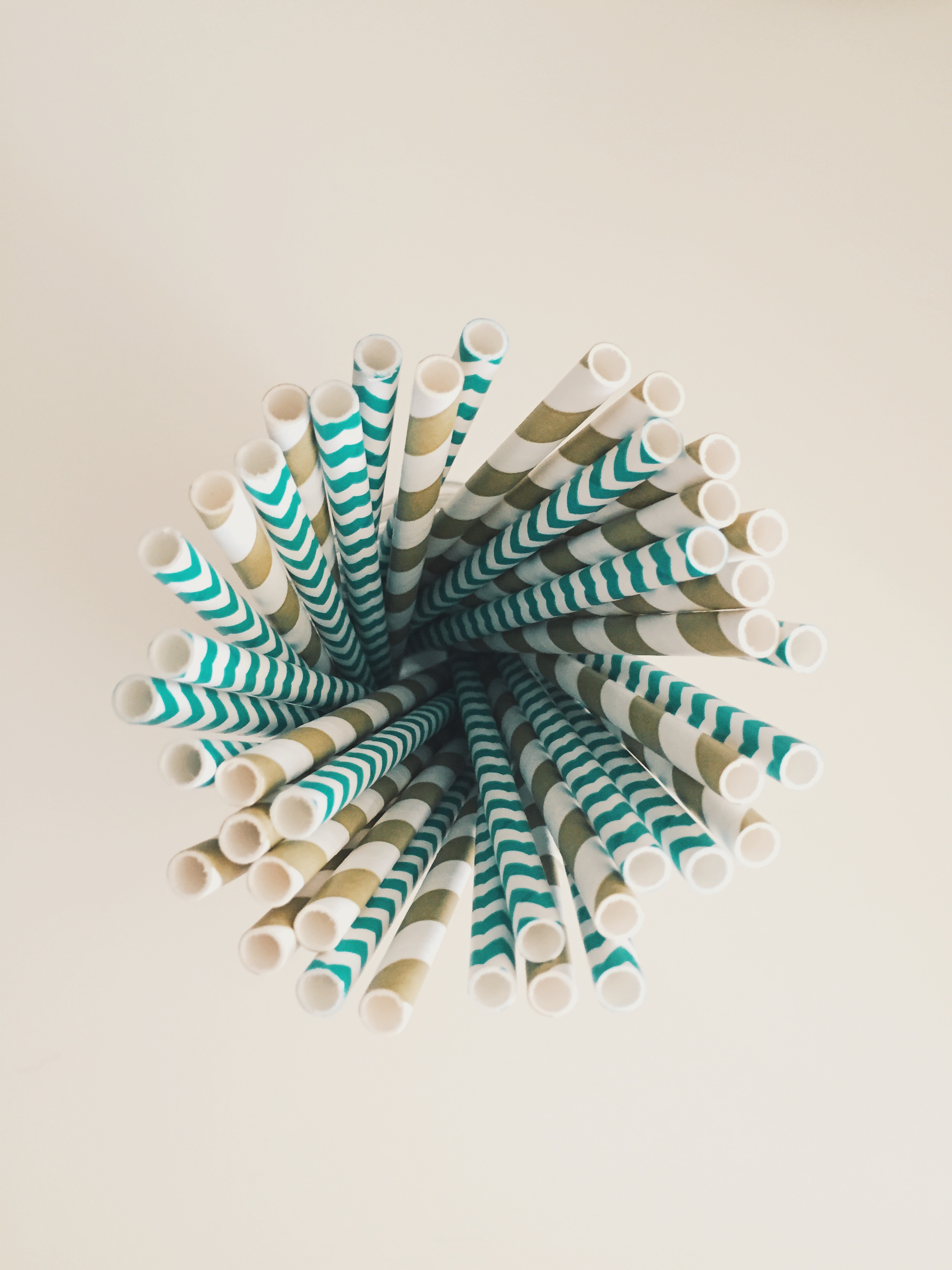 Lil Pumpkin theme baby shower- teal and gold paper straws | finicky designs