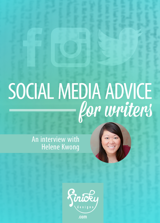 Social media advice for writers: an interview with Helene Kwong of Hashtagitude