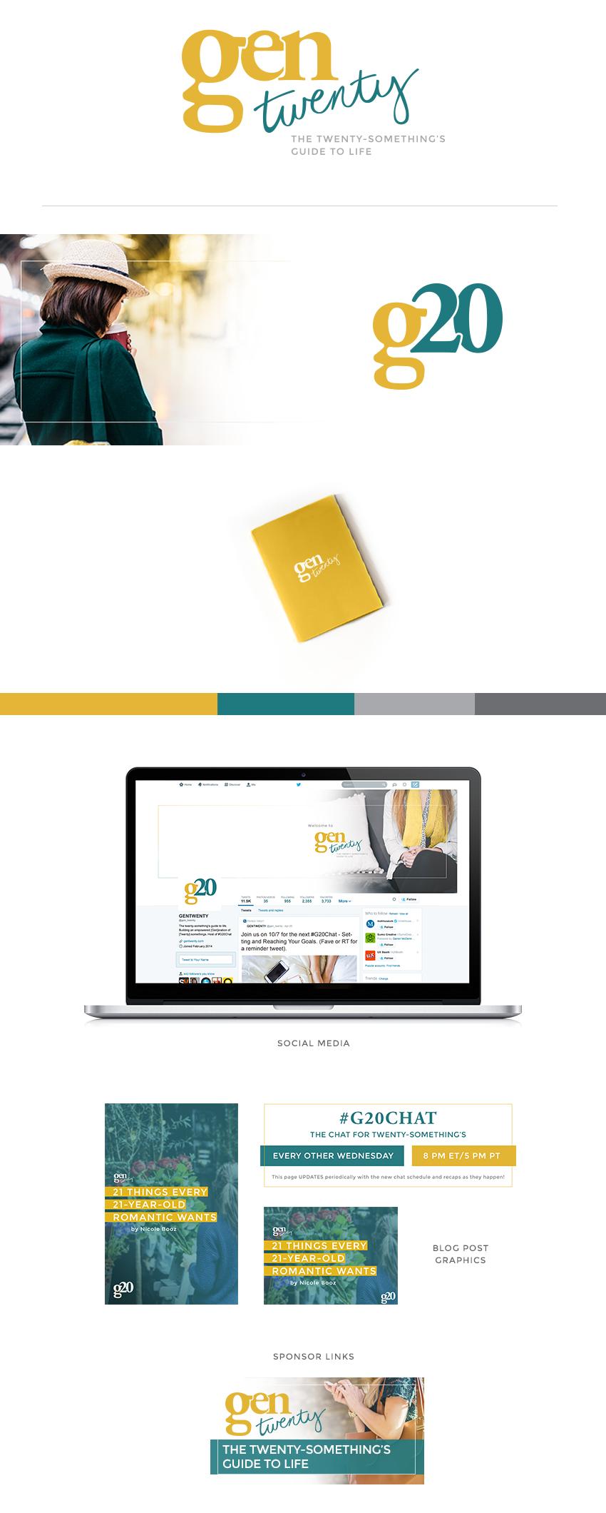 GenTwenty Brand Design by Finicky Designs