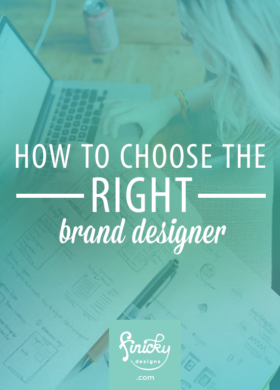 How to Choose the Right Brand Designer | finicky designs
