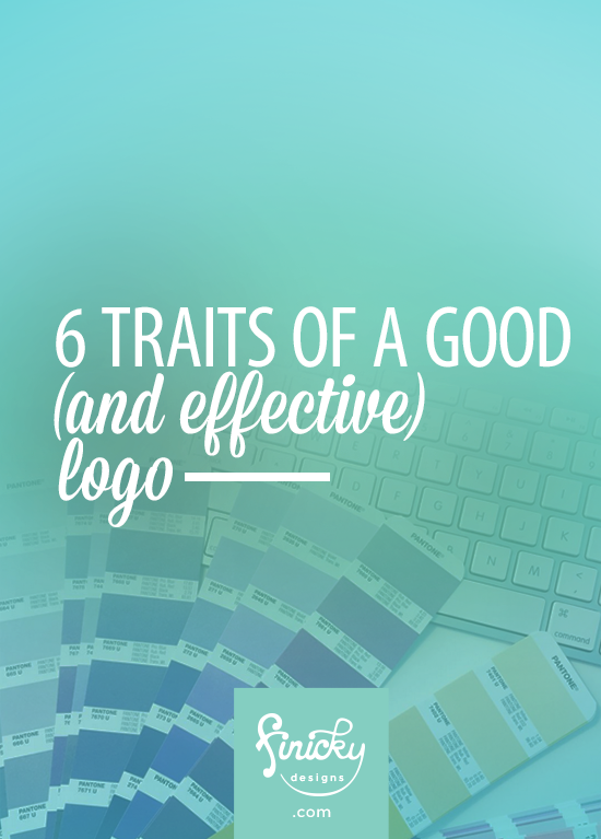 6 Traits of a Good (and EFFECTIVE) Logo |  Finicky Designs