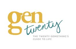 GenTwenty blog logo and brand design