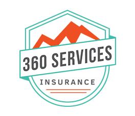 Insurance local business logo and brand design, colorado springs, co