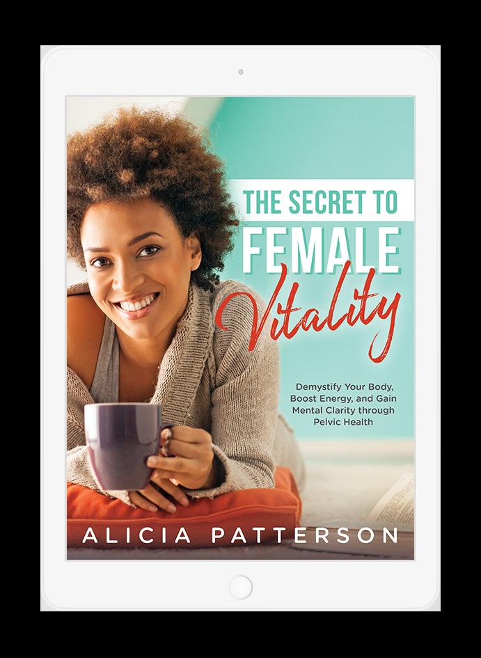 Secret to Female Vitality ebook cover design