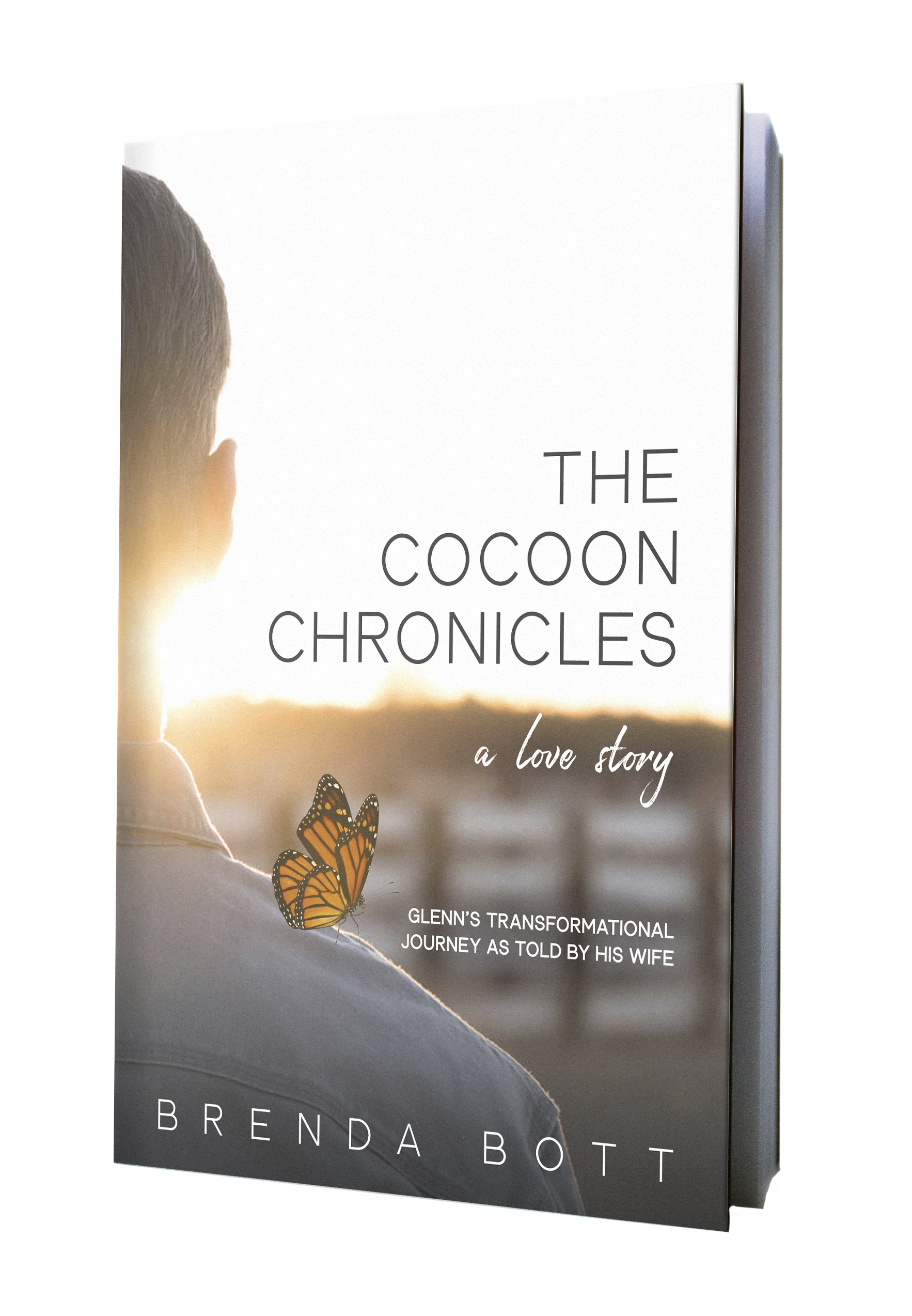CocoonChronicles, book cover design
