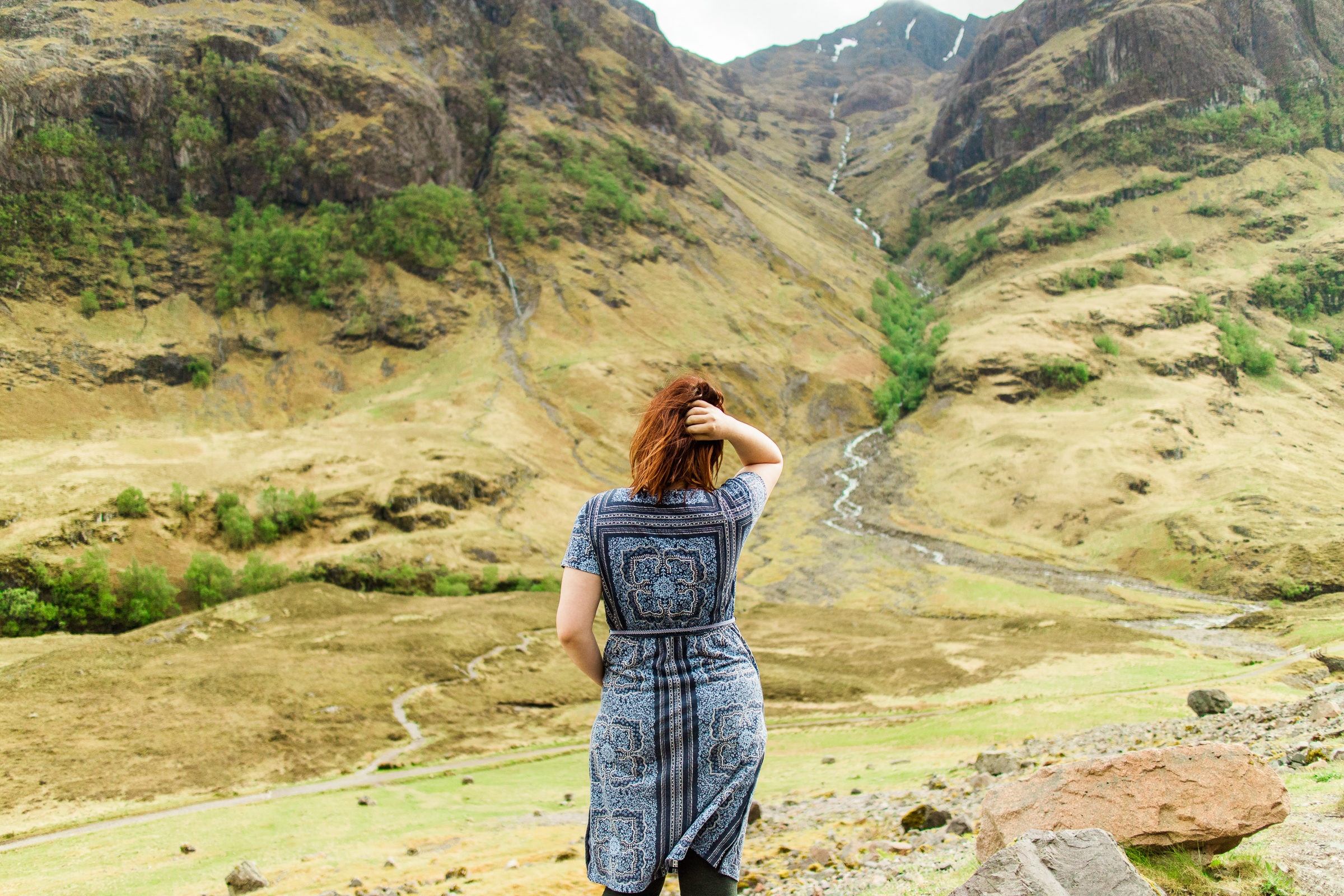 And now here we are at this infamous photo ;) The one I've plastered everywhere because it was the most magical moment of my life. Glen Coe, Scottish Highlands.