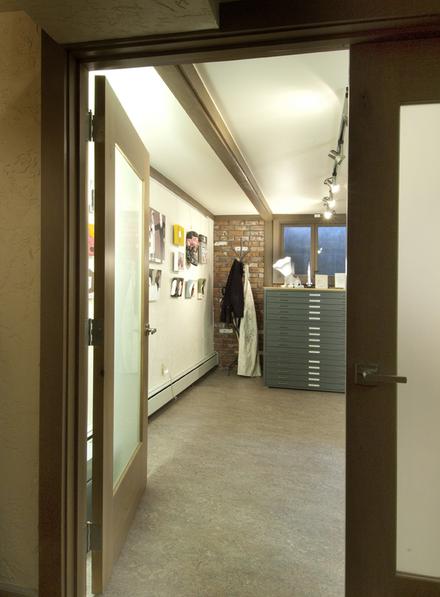 New Doors Leading to Studio