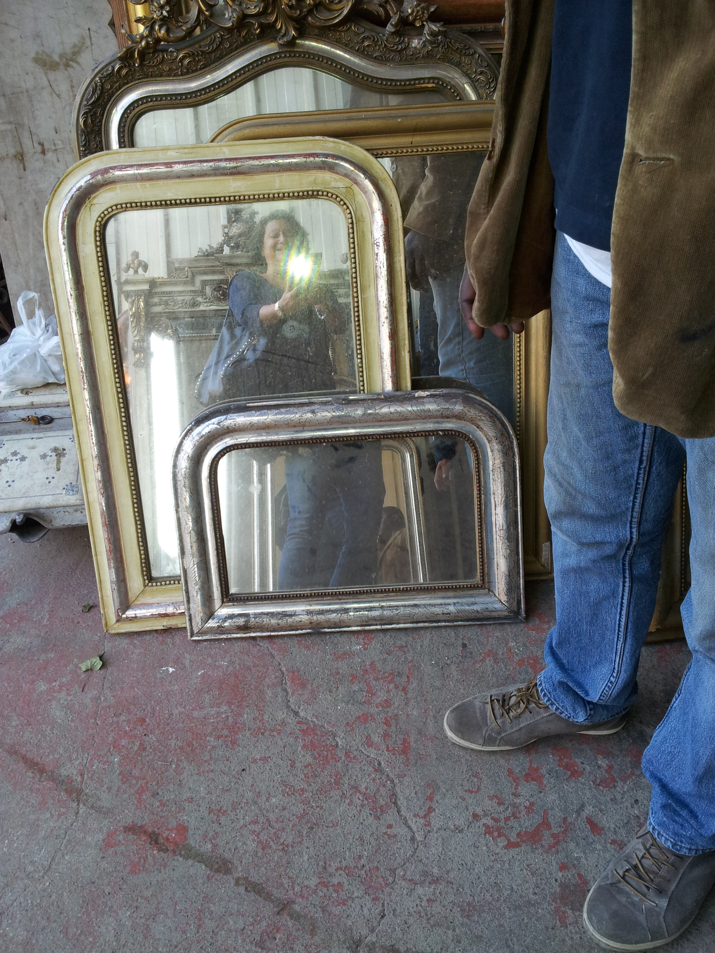 Louis Phillippe mirrors